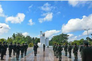 KPA Palangka Raya Ikuti Upacara dan Tabur Bunga pada Peringatan Hari Pahlawan Tahun 2020