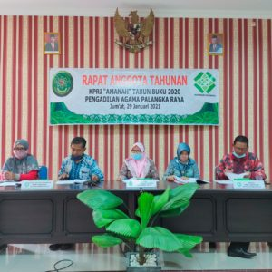 """KPRI """"Amanah"""" PA Palangka Raya Gelar Rapat Anggota Tahunan"""