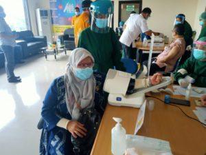 KPA Palangka Raya kembali jalani Vaksin ke 2 Covid-19