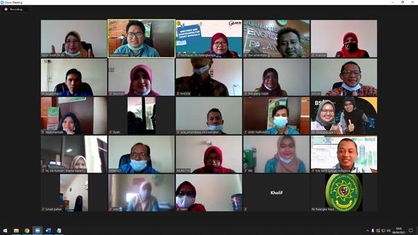 Sosialisasi Virtual Produk Multiguna Bersama Marketing Bank Syariah Indonesia (BSI) Palangka Raya 2