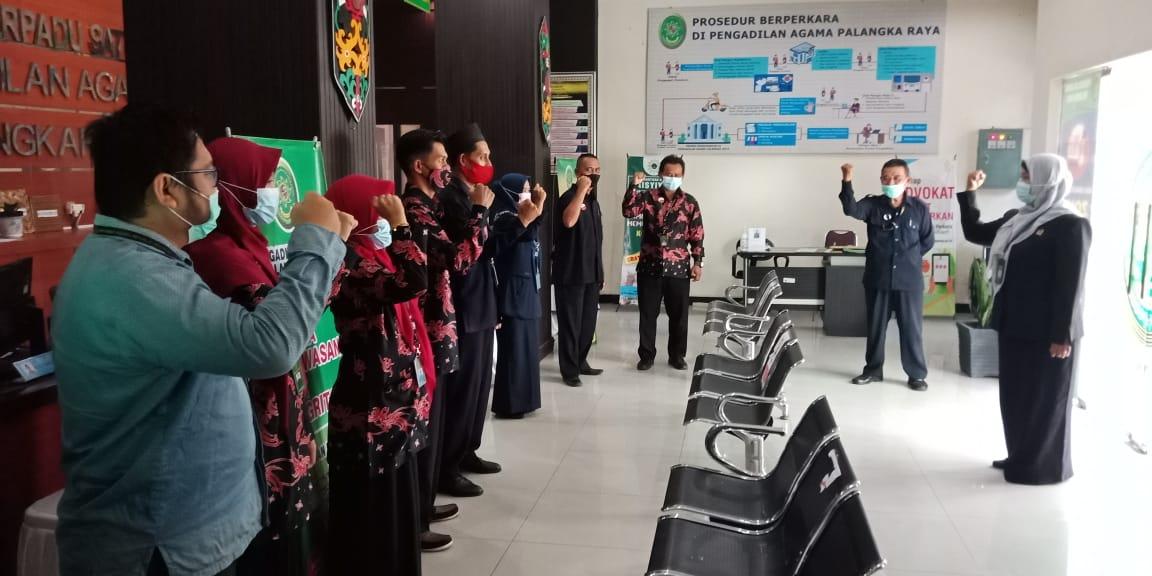Dialog Wakil Ketua Dengan Petugas PTSP Bangkitkan Semangat Melayani