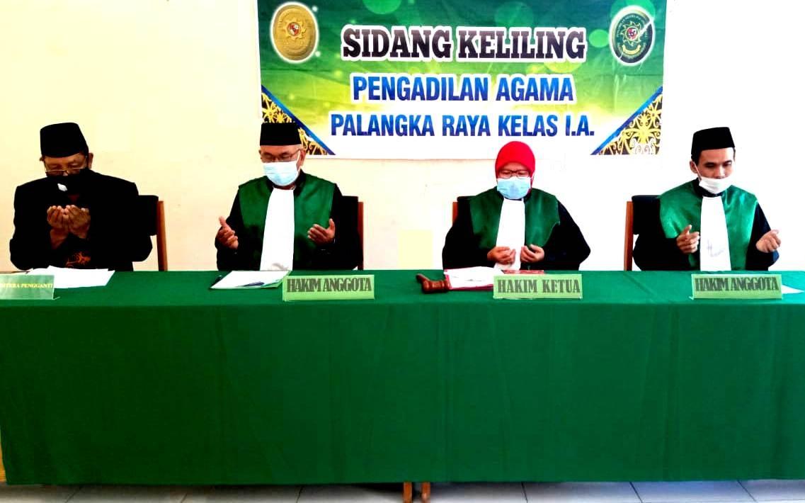 Pengadilan Agama Palangka Raya Kembali Melaksanakan Sidang Keliling di Kelurahan Kereng Bangkirai